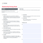 Turnaround for Children Toolbox: Relationship Strategy Bank